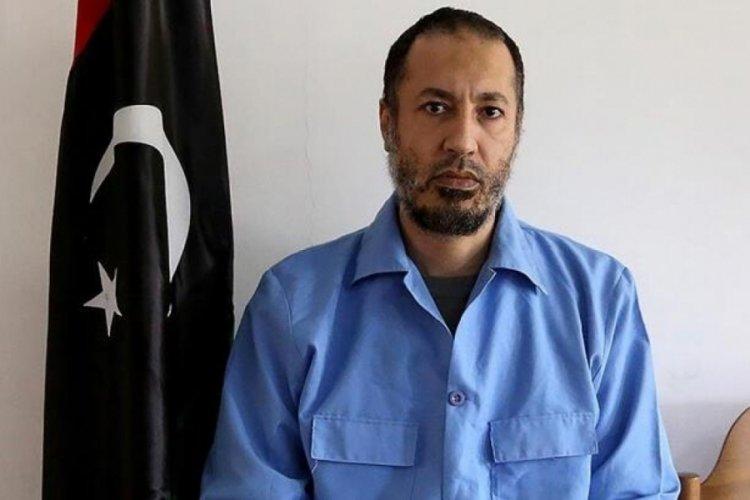 Muammer Kaddafi'nin oğlu serbest bırakıldı