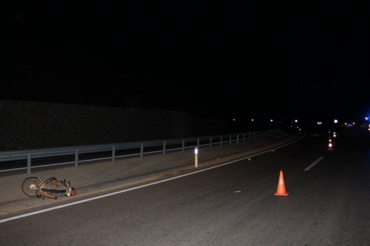 Çanakkale'de trafik kazasında motosiklet sürücüsü hayatını kaybetti