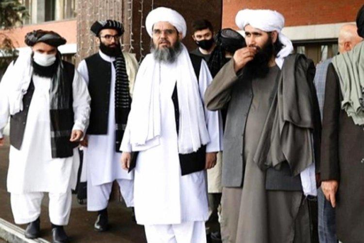 Taliban basın açıklaması yaptı