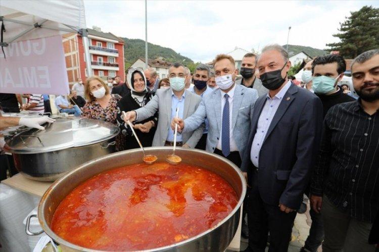 Cerrah Fasulyesi Bursa'da festivalle tanıtıldı