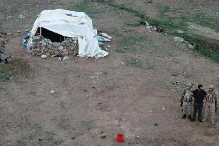 Her yerde aranan şahıs, Elazığ'da çadırda yakalandı