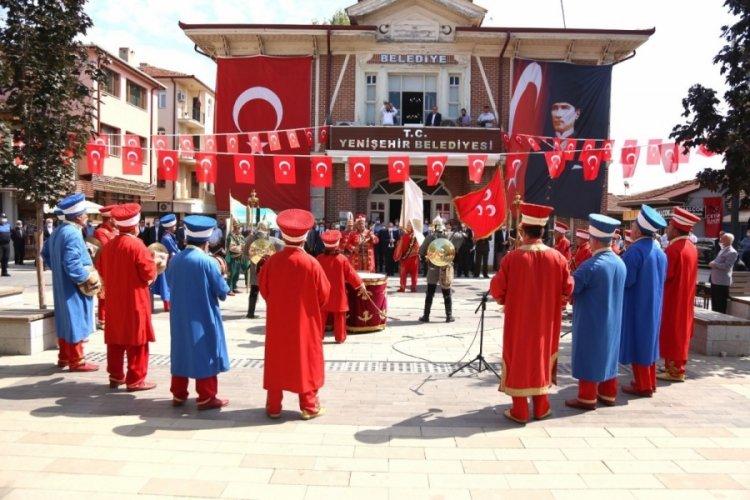 Bursa Yenişehir'in kurtuluşunun 99'uncu yıldönümü kutlandı
