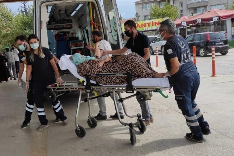Bursa'da daha önce aracını kundakladığı kişinin eşini darbettiği ileri sürülen şüpheli aranıyor