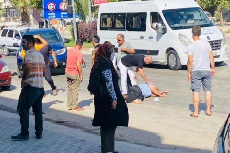 Osmaniye'de otomobilin çarptığı yaya öldü, sürücü kalp krizi geçirdi
