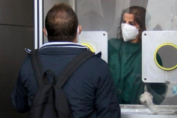 Aşı olmayanlar PCR testi için hastanelere akın etti