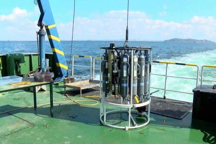TÜBİTAK Araştırma gemisi Marmara'yı karış karış inceliyor: Müsilaj 2 ay içerisinde parçalandı