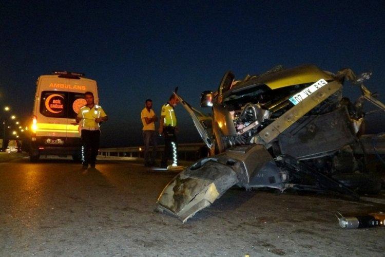 Osmaniye'de feci kaza: 2 ölü, 5 yaralı