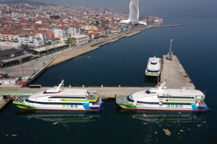 Bursa Deniz Otobüslerinin bazı seferleri iptal edildi