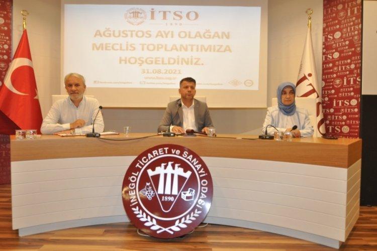 Bursa İnegöl'ün ekonomik sorunları Bakan Muş'a iletildi