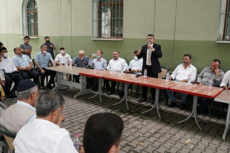 Bursa Yıldırım Belediye Başkanı Yılmaz, vatandaşla el ele