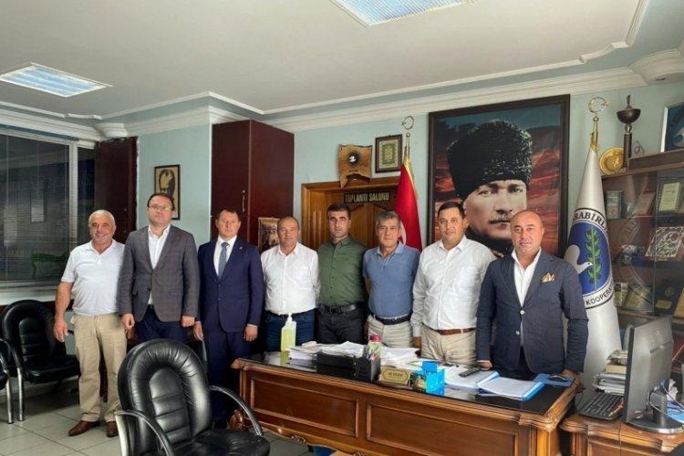 Bursa'da Marmarabirlik Mudanya Kooperatifi'nde nöbet değişimi oldu!