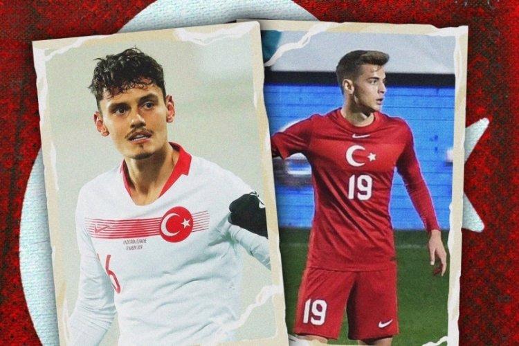 Bursaspor Kulübü'nden, Enes Ünal ve Batuhan Kör'e mesaj