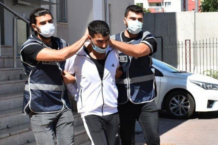 Kayseri'de aranan hükümlü, kanepe arkasında yakalandı