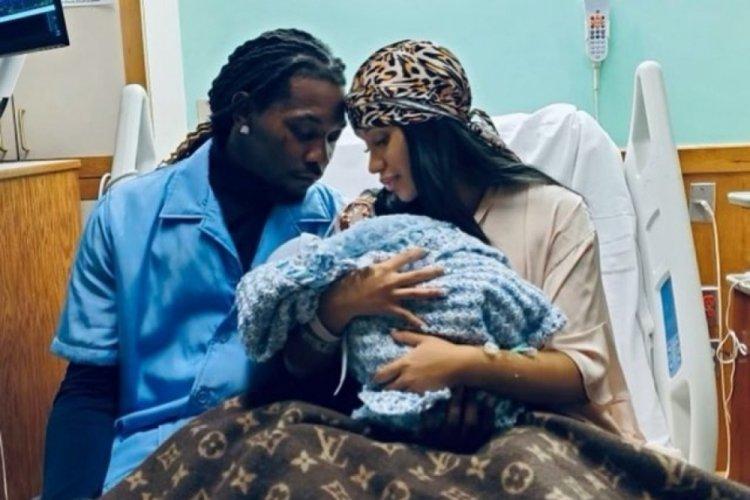 Cardi B ikinci çocuğunu dünyaya getirdi