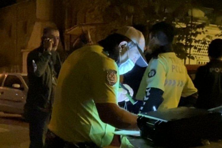 Bursa'da alkollü sürücüden pes dedirten sözler!