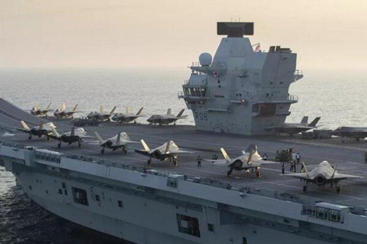 İngiliz uçak gemisinin komutanından, Japonya ziyareti için açıklama geldi