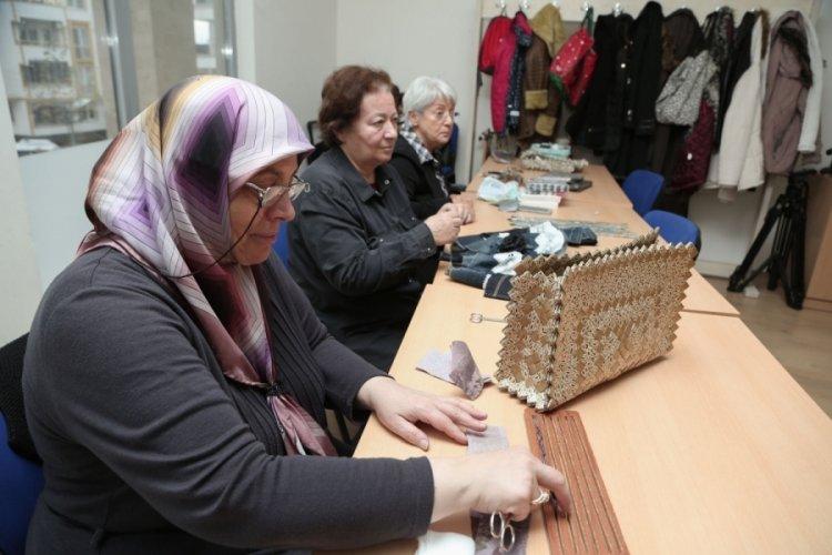 Bursa NİLSEM el sanatları kurslarında kayıtlar başladı