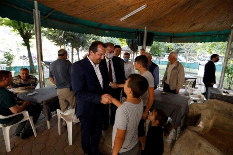Bursa Milletvekili Refik Özen'den İnegöl'e ziyaret