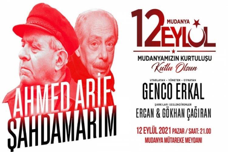"""Bursa'da Genco Erkal """"Şahdamarım"""" İle 12 Eylül'de Mudanya'da sahnelenecek"""