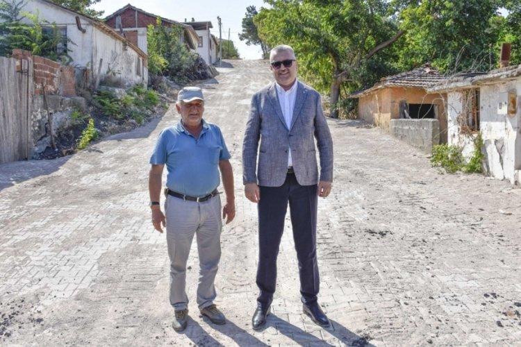 Bursa Karacabey'de yatırımlar sürüyor