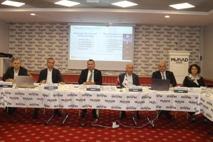 MÜSİAD Birleşme ve Devralmalar Komitesi Bursa'da toplandı