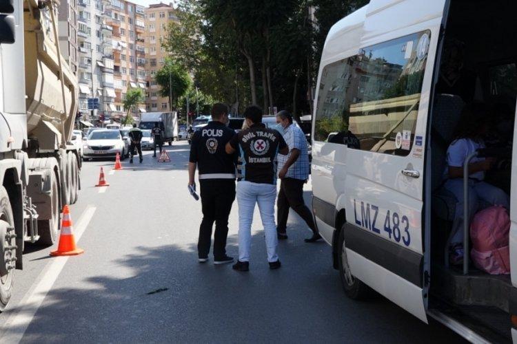 İstanbul'da öğrenci servisleri denetlendi