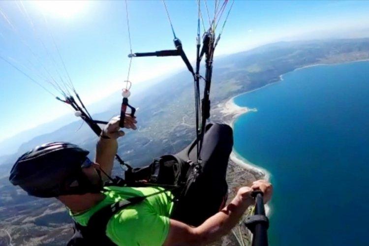 Salda Gölü'ne iniş yapan paraşütçülere ceza!