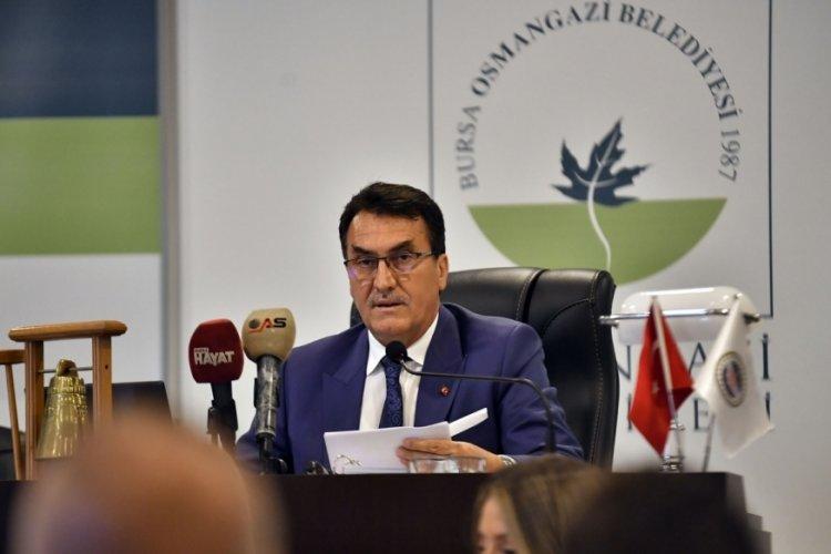 Bursa Osmangazi Belediye Başkanı Dündar: 136 mahallede 160 şantiyemiz var