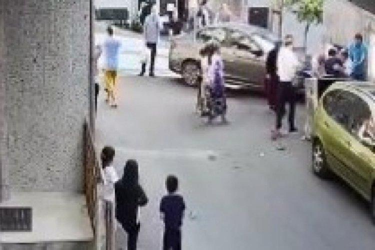 İstanbul Şişli'de korkunç kaza! Çöp atarken otomobil çarptı