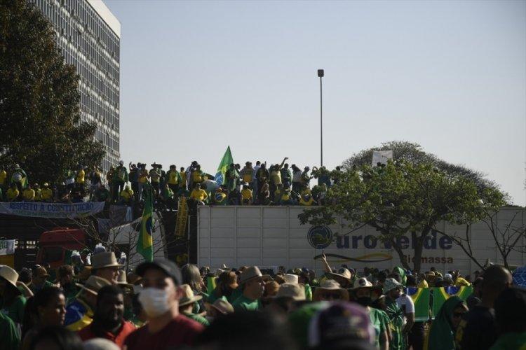 Brezilya'da Bolsonaro'ya destek gösterisi