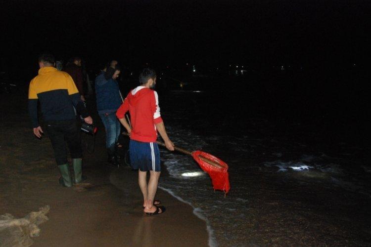 Bartın'da sahile toplananlar bu kez umduğunu bulamadı