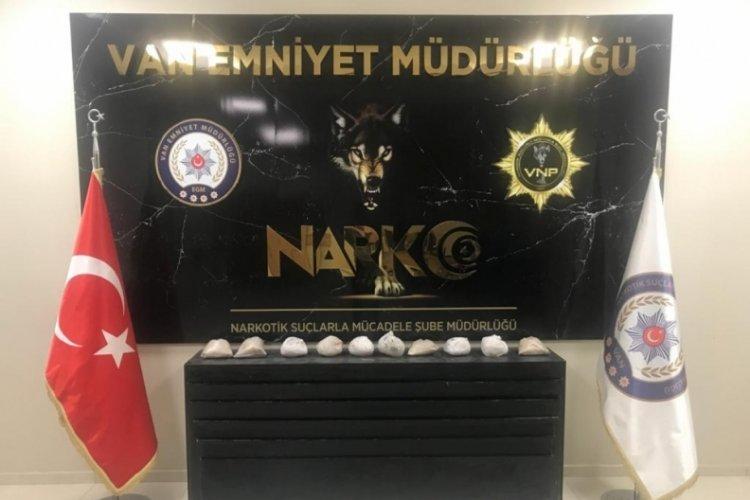 Van'da 11 kilo eroin ele geçirildi! 1 gözaltı