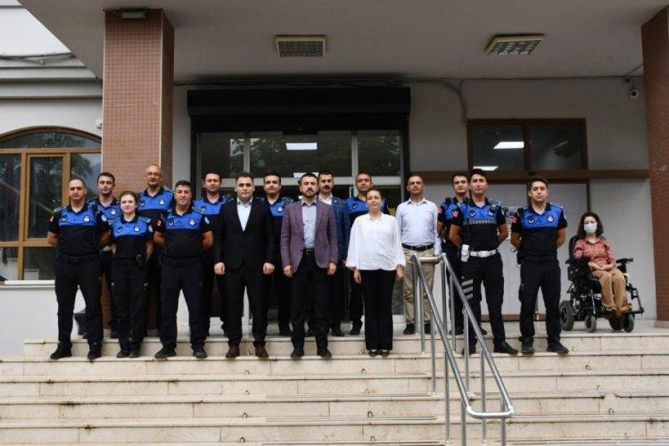 Bursa Kestel Belediye Başkanı Tanır, zabıta teşkilatını ziyaret etti