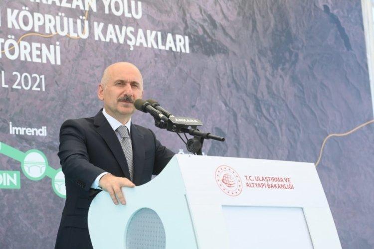 Bakan Adil Karaismailoğlu: Yatırımların kağnı hızında yapıldığı dönemler geride bırakıldı