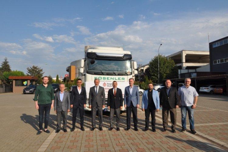 Bursa İnegöl'den yangın mağdurlarına 1 milyon liralık mobilya desteği