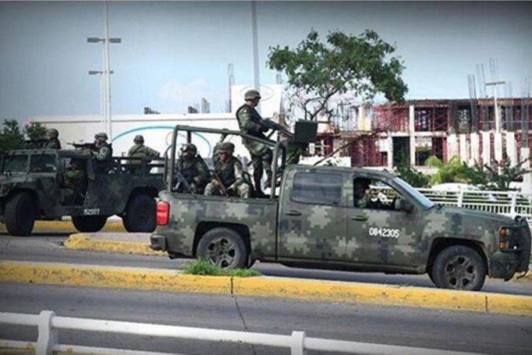 Meksika'da çeteler ordu mensuplarıyla çatıştı: 13 ölü