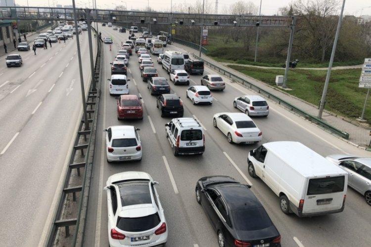 Bursa'da o yola dikkat! (10 Eylül 2021)