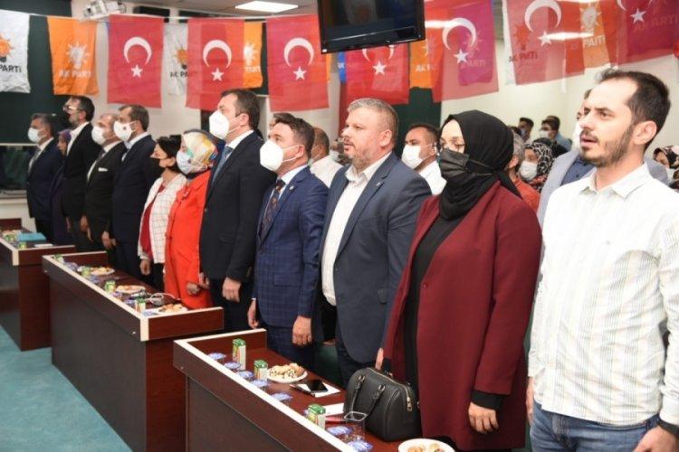 AK Parti Bursa ilçe danışma meclisi toplantıları İnegöl ve Gürsu ile başladı