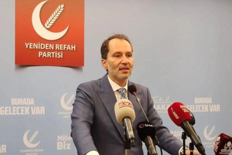 Yeniden Refah Partisi Genel Başkanı Erbakan: Seçim barajı sıfıra kadar indirilmeli