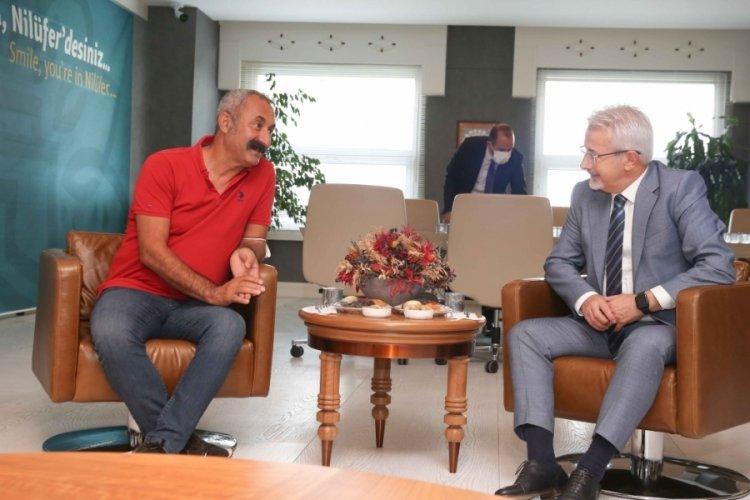 Maçoğlu'dan Bursa Nilüfer'e dayanışma ziyareti