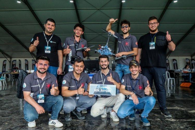 Bursa'da Savaşan İHA Yarışması Döner Kanat Kategorisinde şampiyon belli oldu