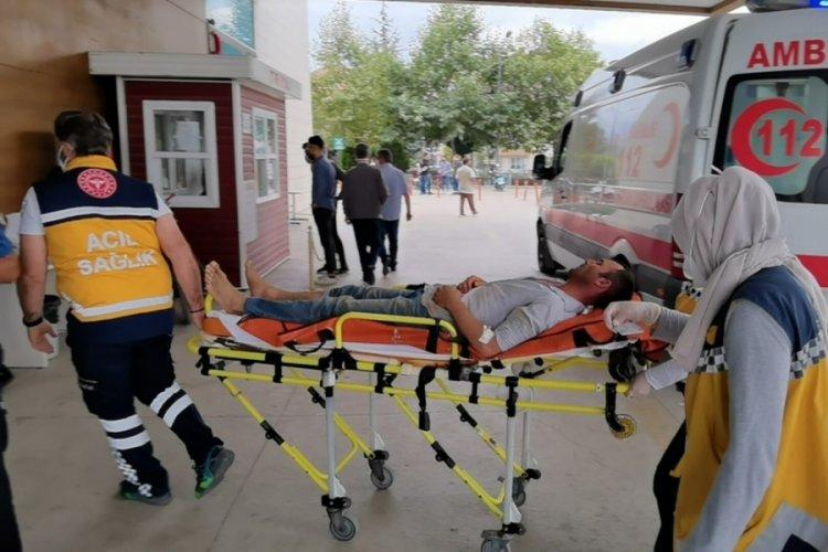 Bursa'da elektrik akımına kapılan işçi yaralandı