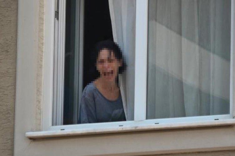 Bursa'da eşini bıçakla rehin alan şüpheli tutuklandı