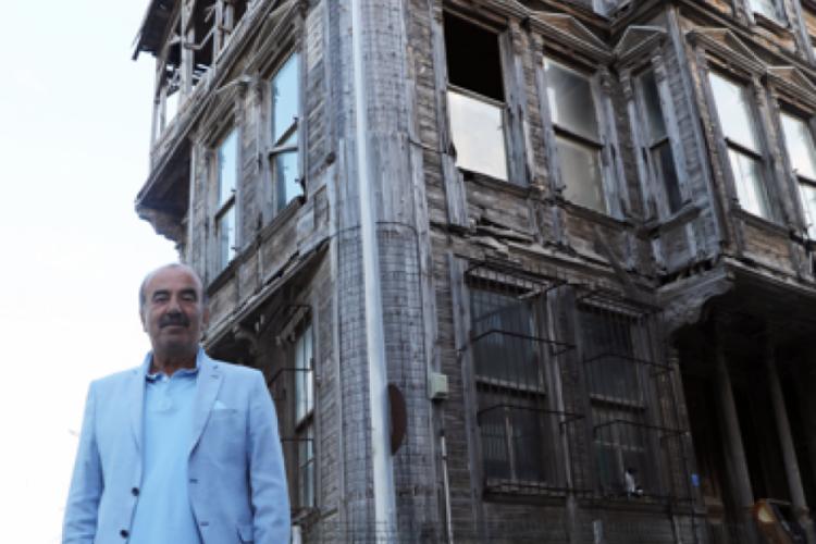 Bursa Mudanya'da Girit sokağındaki tarihi konak kamulaştırıldı