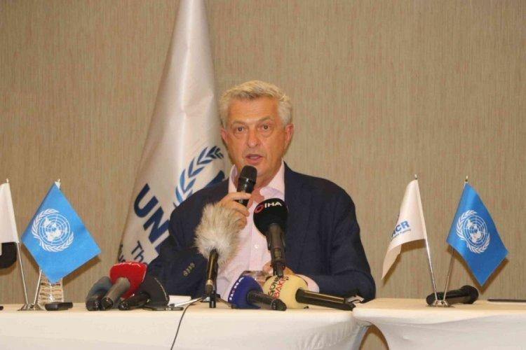 BM Mülteciler Yüksek Komiseri Grandi: Türkiye pozitif bir mülteci politikasına sahip