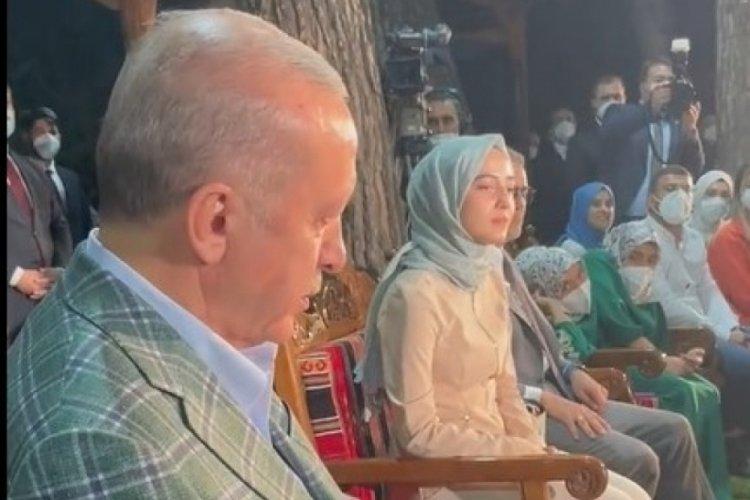 Cumhurbaşkanı Erdoğan'ı duygulandıran anlar