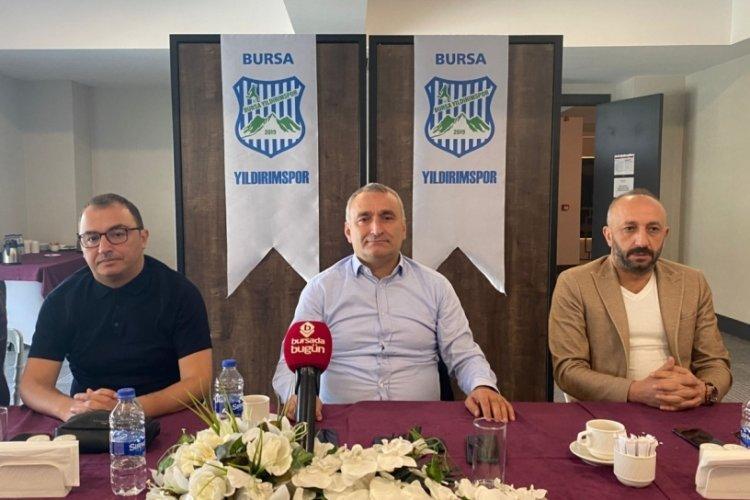 Yıldırımspor Başkanı Senal'dan şampiyonluk çağrısı!