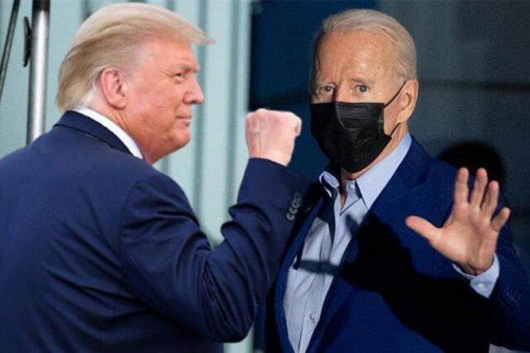 Trump: Biden'ı boks ringinde nakavt ederim