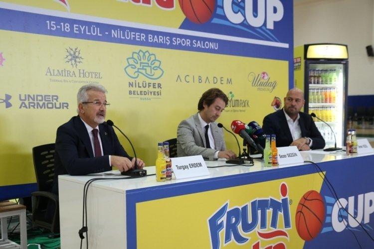 Bursa Nilüfer'de basketbol heyecanı yaşanacak