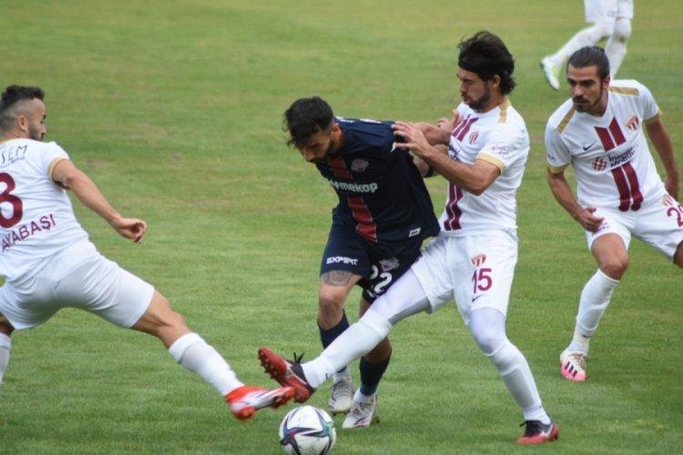 İnegölspor, Hekimoğlu Trabzon ile 0-0 berabere kaldı